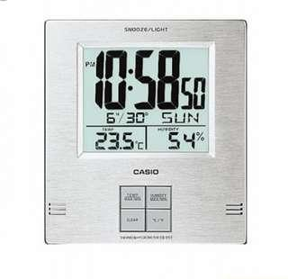 Casio Wall and Table alarm clock