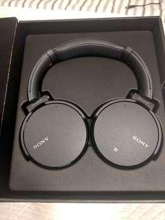 Sony Extra Bass Over-Ear Headphones - Black - MDR-XB950N1