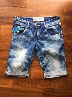 🚚 Denim shorts bermudas