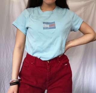 vintage rhinestone tommy tshirt