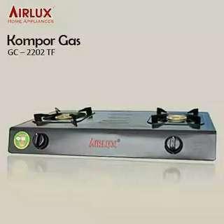 Kompor Gas 2 Tungku Airlux 2202 TF