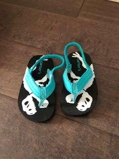 Carters sandals size xs (toddler size 3/4)