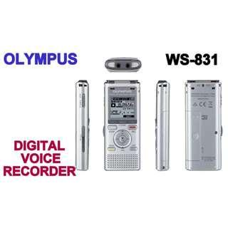 OLYMPUS DIGITAL VOICE RECORDER WS-831