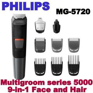 Philips Multigroom series 5000 9-in-1 Face and Hair MG5720/15