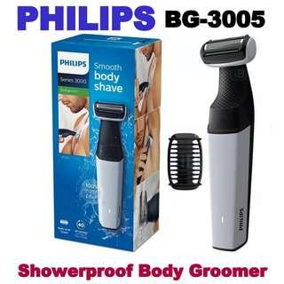 Philips Bodygroom series 3000 Showerproof body groomer - BG3005/15