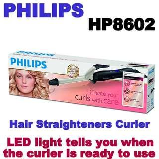 Philips Hair Straighteners Curler HP8602