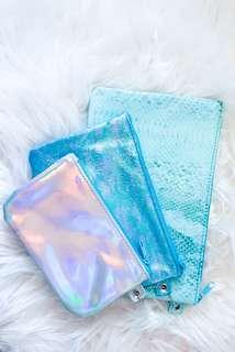 Green Makeup Bags