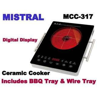 Mistral MCC317 Ceramic Cooker  INDUCTION COOKER