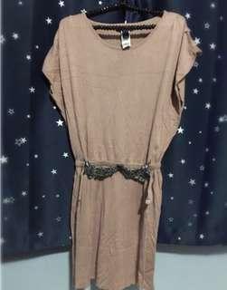 Mango Nude Dress