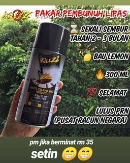 Ikillzz Spray Lipas