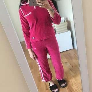 Pink NIKE tracksuits