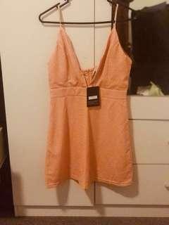Singlet rusty dress