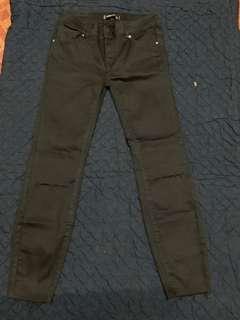 Skinny Ripped Jeans (Black)