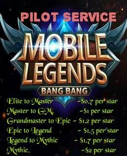 🚚 [Cheapest] Boosting/Pilot Service for Mobile Legend