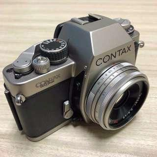 Contax S2 Anniversary Edition with Tessar 45mm pancake F2.8