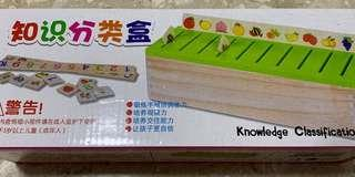 Knowledge Classification Box - educational, sorting