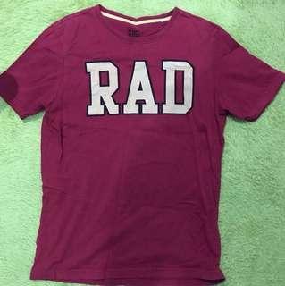 🚚 【清衣櫃】【賣場買多可殺價!】【可接受換物】酒紅色T-Shirt 👕