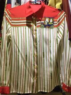 🚚 裊裊百貨 復古小馬車襯衫