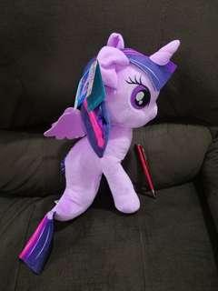 [SALE] Brand New Authentic My Little Pony princess twilight sparkle soft plush toy #endGameYourExcess