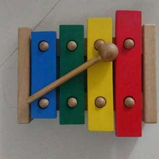 Ikea Bead coaster and Xylophone Wooden toy