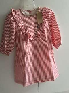 Mango Kids Stripes Dress