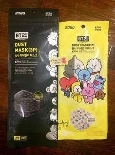 BT21 KF94 Dust Mask