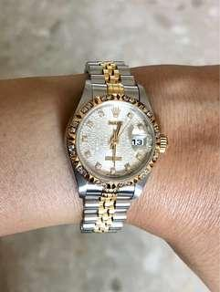 🚚 Rolex datejust lady