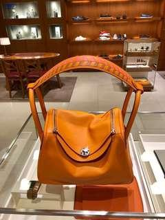 🚚 Hermes Lindy 30 orange