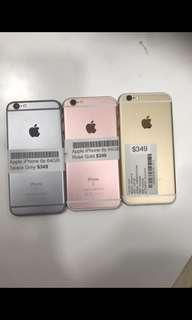 iPhone 6s - Brand New (Any Colour Available)