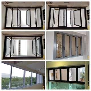 Aluminium window and grille ,carpentry works ans full renovations direct from factory 93393838