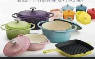NUTRIFRESH CAST IRON AND STONEWARE COLLECTIONS