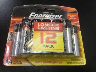 Energizer AA battery 12 piece pack