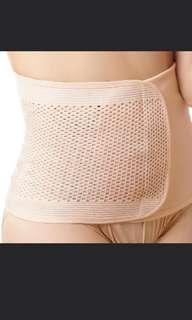[BN] Maternity Slimming Binder Waist Tummy Wrap Body Shaper Velcro | nude