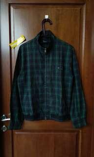 Fred Perry Black Watch Tipped Tartan Shirt Jacket