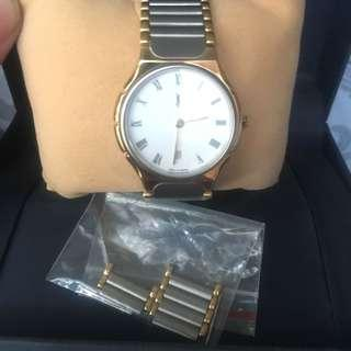 Authentic YSL two tone womens watch junior size