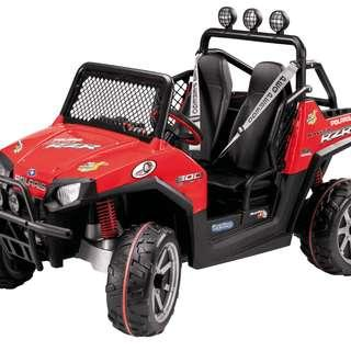 Peg Perego Polaris RZR Ranger Red ATV for Kids 24Volt