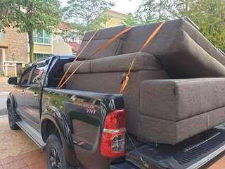 Sofa 3+2 mover service 4x4