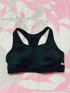 🚚 Nike Black Sports Bra in S