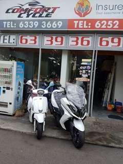 Brand new Kymco bikes!!!