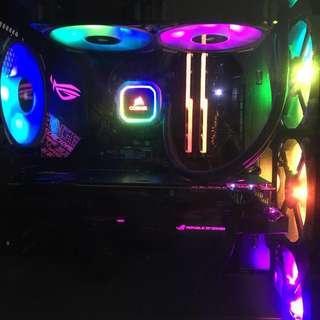 High End i9-9900k + RTX 2080 Ti PC
