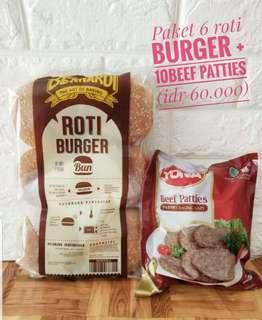Paket Beef Burger