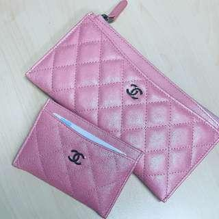 🚚 Chanel brand new wallet in pink!