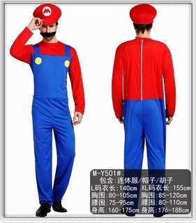 🚚 Mario Costume for Male