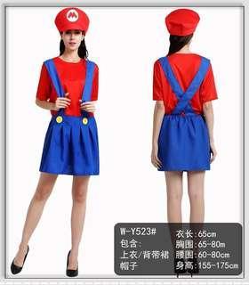 🚚 Mario Dress Costume