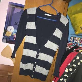 Striped Cardigan #SwapCA