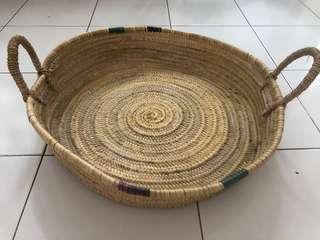 🚚 Rattan basket tray 58cm wide
