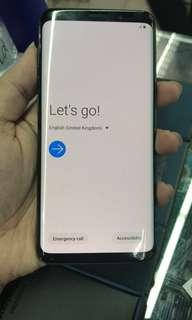 Samsung s9 back. 64gb with warranty by center