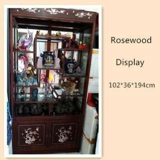 🚚 Rosewood display