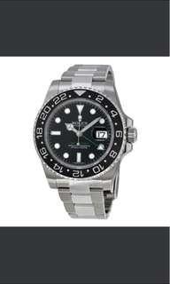 Buying ROLEX GMT MASTER II 116710LN