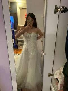 Wedding Gown, Wedding Dress (white gown)